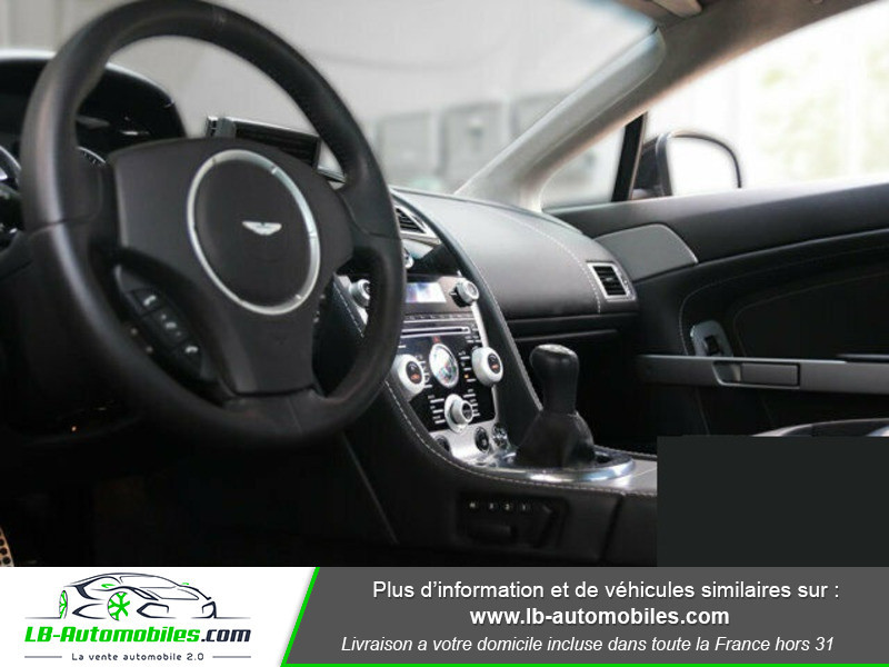 Aston martin V8 Vantage V8 4.7 426 ch Noir occasion à Beaupuy - photo n°2