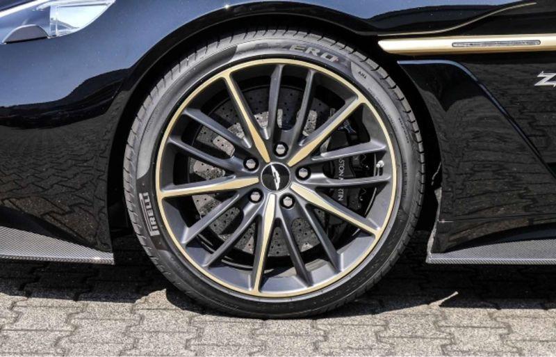 Aston martin Vanquish 6.0 V12 ZAGATO Noir occasion à BEAUPUY - photo n°7