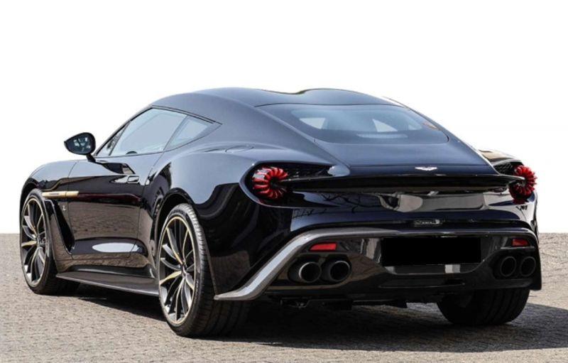 Aston martin Vanquish 6.0 V12 ZAGATO Noir occasion à BEAUPUY - photo n°3