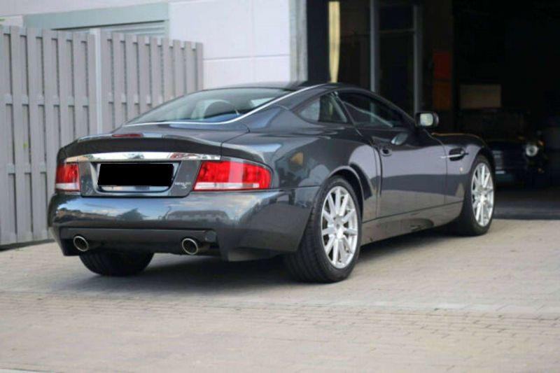 Aston martin Vanquish 6.0 V12 Noir occasion à BEAUPUY - photo n°3
