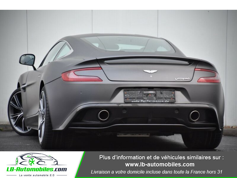 Aston martin Vanquish Coupé V12 Argent occasion à Beaupuy - photo n°12