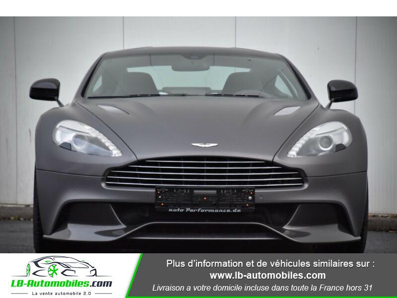 Aston martin Vanquish Coupé V12 Argent occasion à Beaupuy - photo n°10