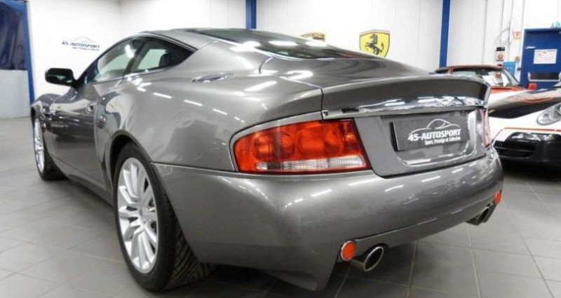 Aston martin Vanquish V12 5.9 Gris occasion à Jouy-le-potier - photo n°3