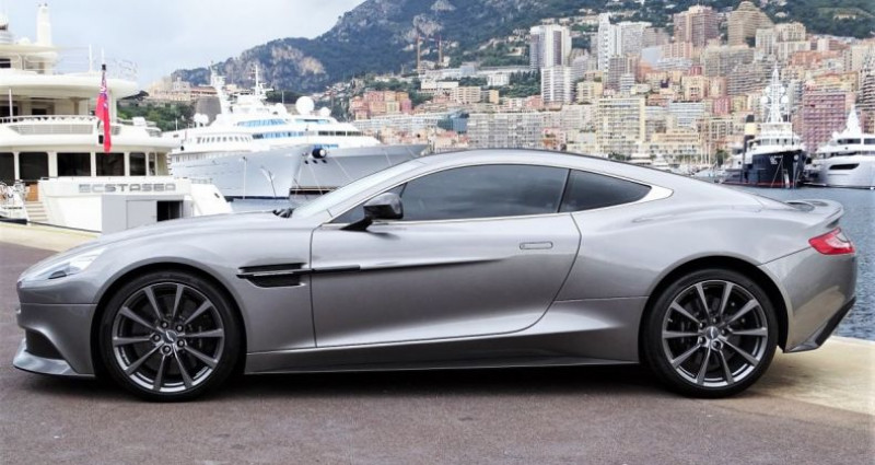 Aston martin Vanquish V12 TOUCHTRONIC 573 CV COUPE - MONACO Argent occasion à MONACO - photo n°4