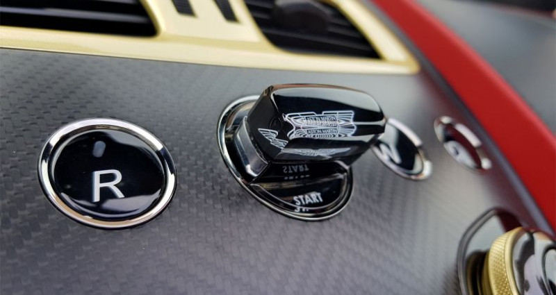 Aston martin Vanquish ZAGATO VOLANTE Rouge occasion à Hesperange - photo n°3