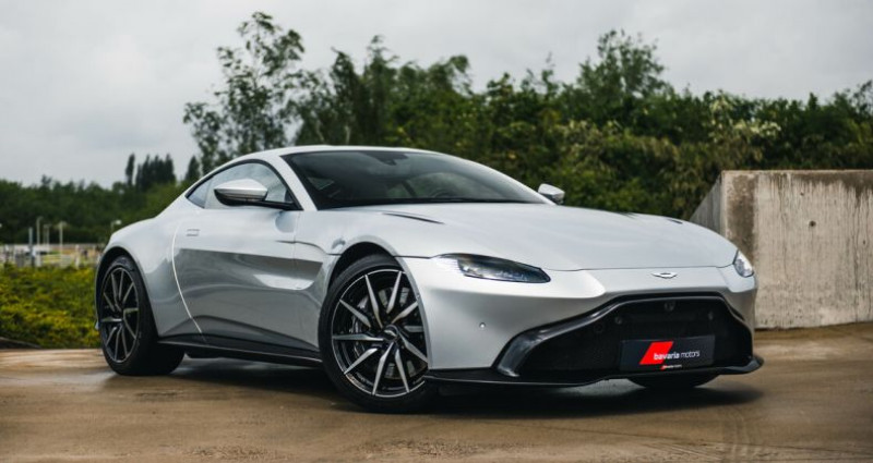 Aston martin VANTAGE 4.0 Lightning Silver - Obisidian Black  occasion à Harelbeke