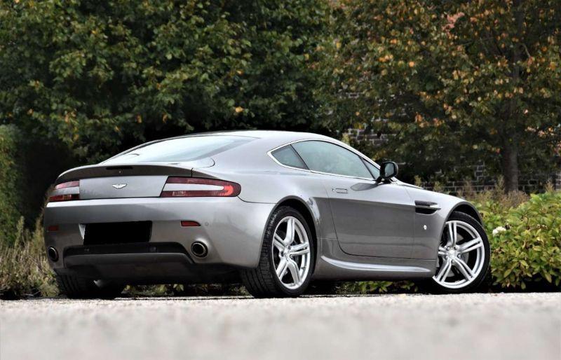 Aston martin VANTAGE 4.3 V8 SPORTSHIFT Gris occasion à BEAUPUY - photo n°3