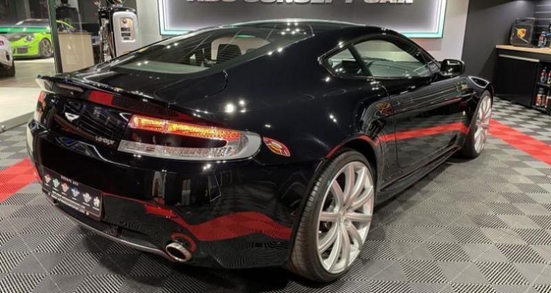 Aston martin VANTAGE 4.7 SPORTSHIFT V8 Noir occasion à FOETZ - photo n°3