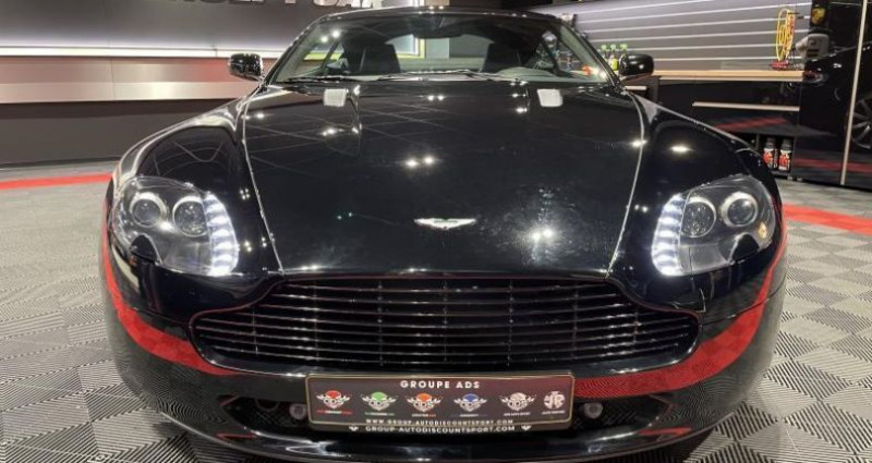 Aston martin VANTAGE 4.7 SPORTSHIFT V8 Noir occasion à FOETZ - photo n°5