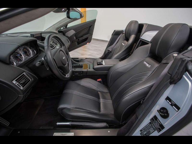 Aston martin VANTAGE 4.7 V8 S SPORTSHIFT Gris occasion à BEAUPUY - photo n°5