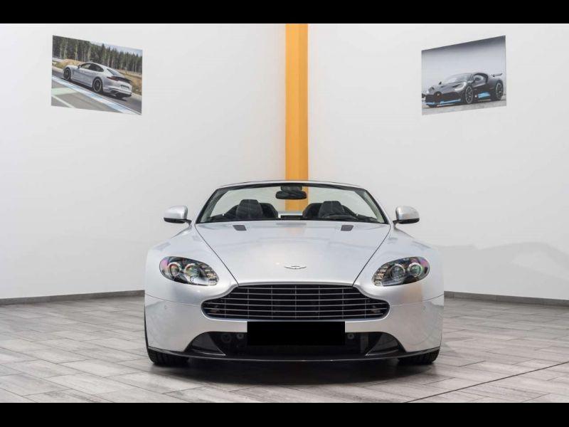 Aston martin VANTAGE 4.7 V8 S SPORTSHIFT Gris occasion à BEAUPUY - photo n°9