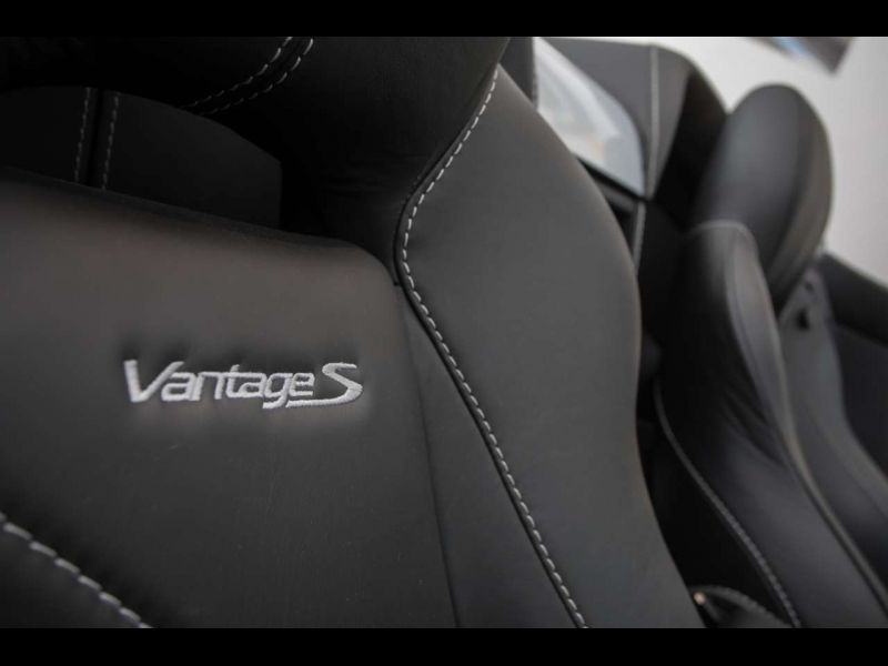 Aston martin VANTAGE 4.7 V8 S SPORTSHIFT Gris occasion à BEAUPUY - photo n°4