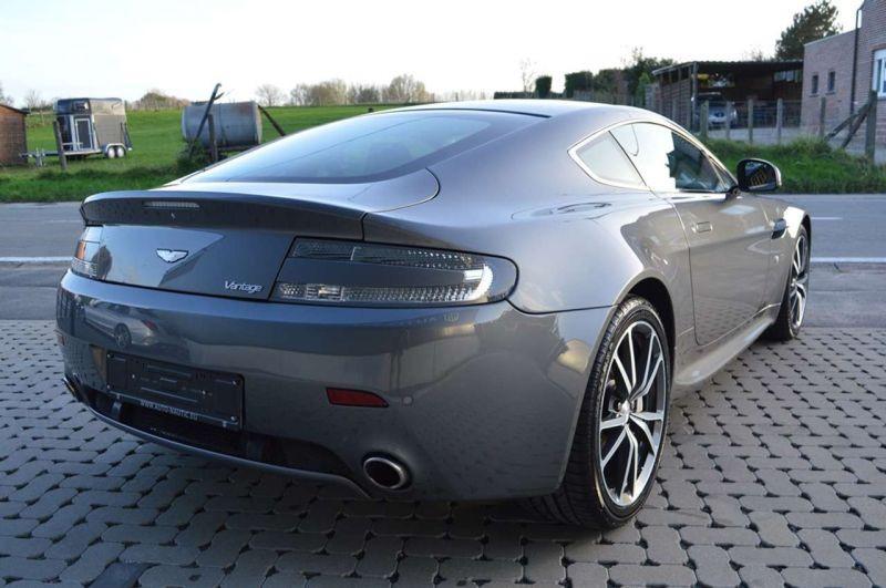 Aston martin VANTAGE 4.7 V8 SPORTSHIFT Gris occasion à BEAUPUY - photo n°3