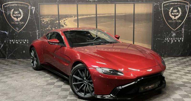 Aston martin VANTAGE New V8 V8 4.0 Biturbo 510 ch Rouge occasion à GUERANDE