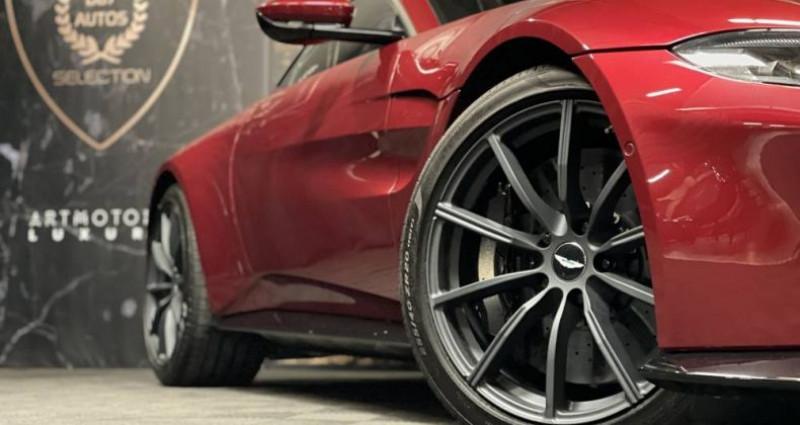 Aston martin VANTAGE New V8 V8 4.0 Biturbo 510 ch Rouge occasion à GUERANDE - photo n°5