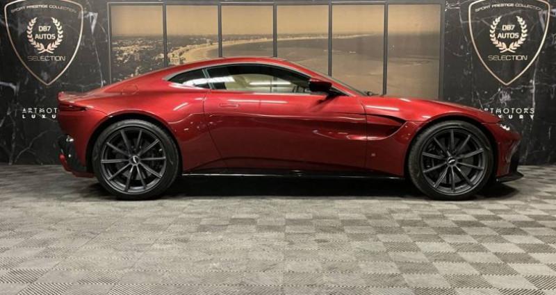 Aston martin VANTAGE New V8 V8 4.0 Biturbo 510 ch Rouge occasion à GUERANDE - photo n°2