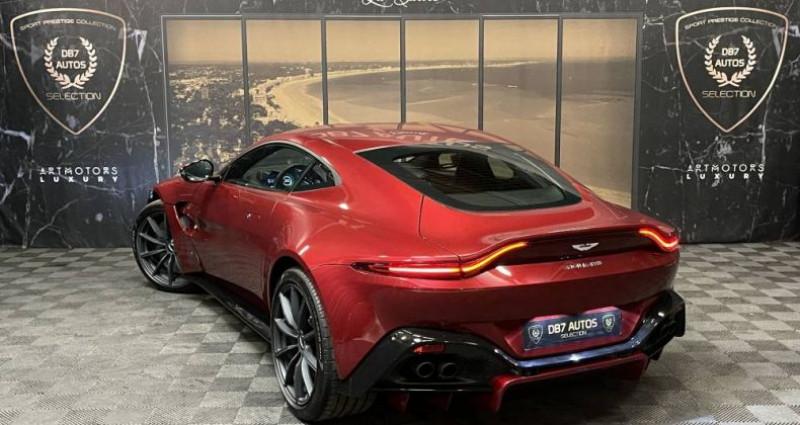Aston martin VANTAGE New V8 V8 4.0 Biturbo 510 ch Rouge occasion à GUERANDE - photo n°3