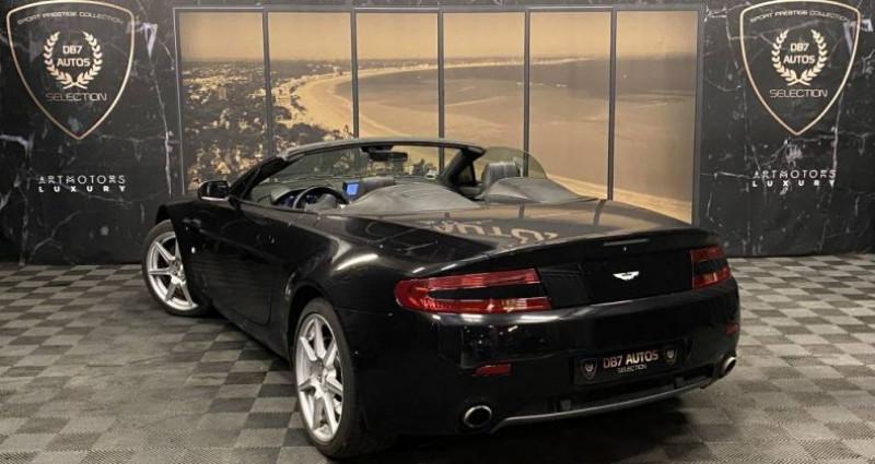 Aston martin VANTAGE Roadster 4.3 390 BVA6 Volante Noir occasion à GUERANDE - photo n°3