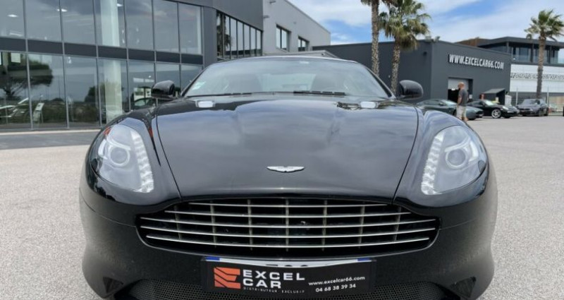 Aston martin VIRAGE V12 6.0 TOUCHTRONIC II Noir occasion à RIVESALTES - photo n°6
