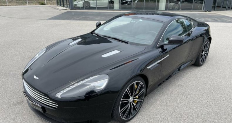Aston martin VIRAGE V12 6.0 TOUCHTRONIC II Noir occasion à RIVESALTES - photo n°2
