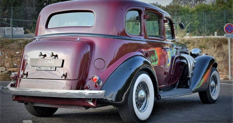 Auburn 654 V8 Chrysler 360 5.9 L Collection Fr de 1936 Bordeaux occasion à ANTIBES - photo n°5