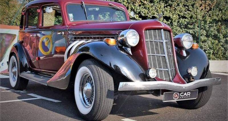 Auburn 654 V8 Chrysler 360 5.9 L Collection Fr de 1936 Bordeaux occasion à ANTIBES - photo n°3