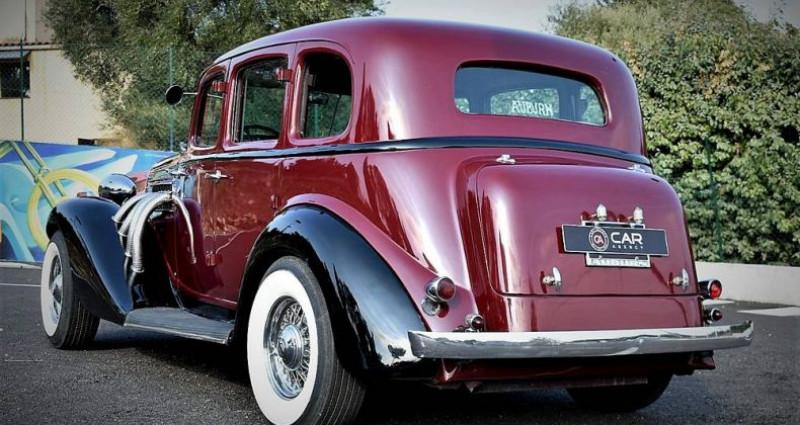 Auburn 654 V8 Chrysler 360 5.9 L Collection Fr de 1936 Bordeaux occasion à ANTIBES - photo n°7