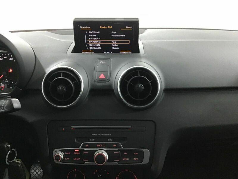 Audi A1 Sportback 1.0 TFSI 95 cv Noir occasion à Beaupuy - photo n°6