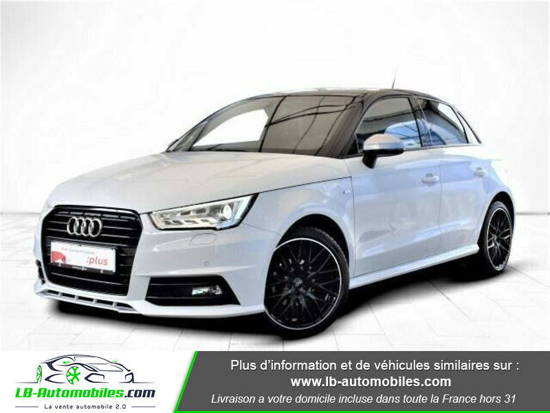 Audi A1 Sportback 1.0 TFSI 95 S tronic 7 / S line Blanc occasion à Beaupuy