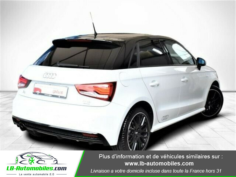 Audi A1 Sportback 1.0 TFSI 95 S tronic 7 / S line Blanc occasion à Beaupuy - photo n°3