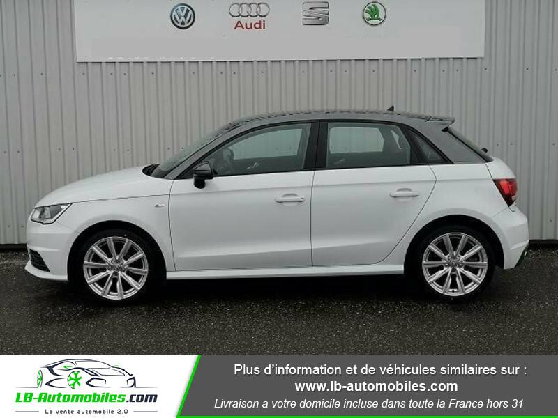 Audi A1 Sportback 1.0 TFSI 95 Blanc occasion à Beaupuy - photo n°4