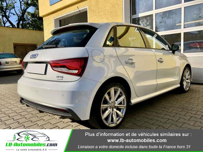 Audi A1 Sportback 1.0 TFSI 95 Blanc occasion à Beaupuy - photo n°3