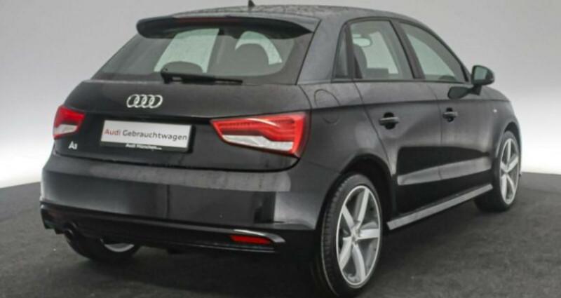 Audi A1 Sportback 1.0 Noir occasion à Eschentzwiller - photo n°4