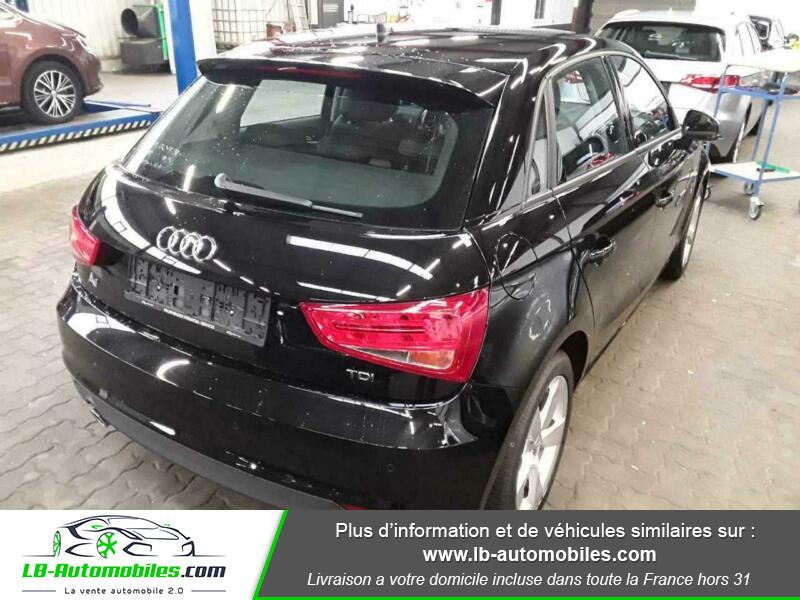 Audi A1 Sportback 1.4 TDI 116 S tronic 7 Noir occasion à Beaupuy - photo n°3