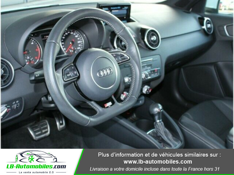 Audi A1 Sportback 1.4 TDI 90 S Tronic Blanc occasion à Beaupuy - photo n°8