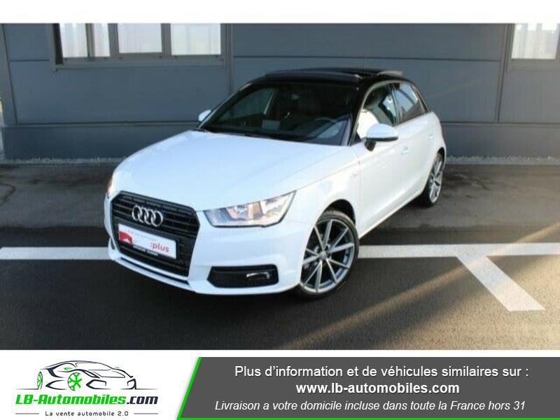 Audi A1 Sportback 1.4 TDI 90 S Tronic Blanc occasion à Beaupuy