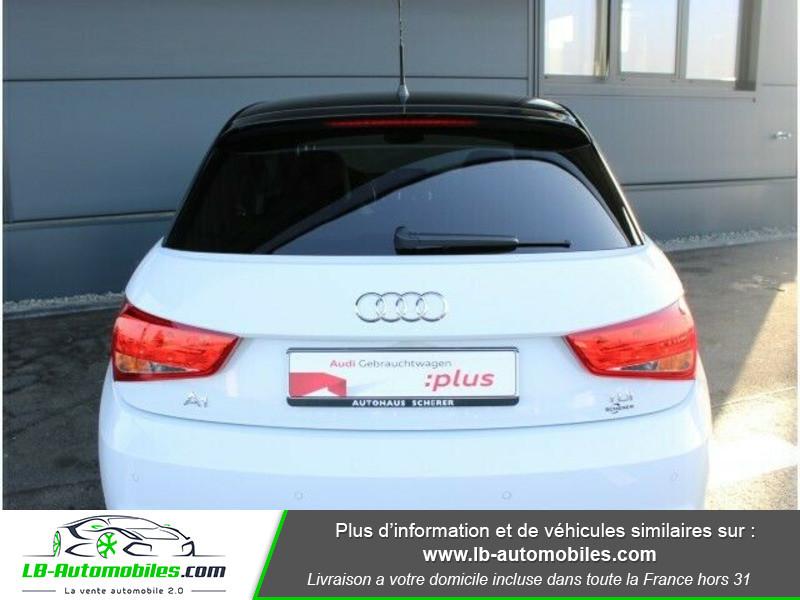 Audi A1 Sportback 1.4 TDI 90 S Tronic Blanc occasion à Beaupuy - photo n°5