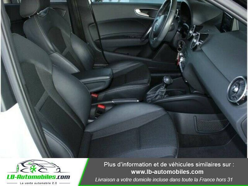 Audi A1 Sportback 1.4 TDI 90 S Tronic Blanc occasion à Beaupuy - photo n°6