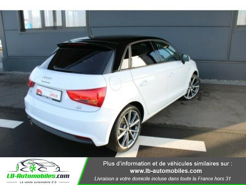 Audi A1 Sportback 1.4 TDI 90 S Tronic Blanc occasion à Beaupuy - photo n°3