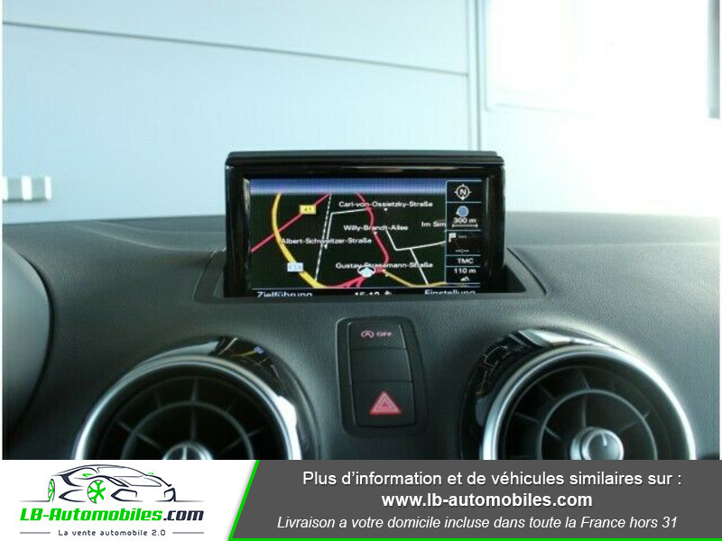 Audi A1 Sportback 1.4 TDI 90 S Tronic Blanc occasion à Beaupuy - photo n°9