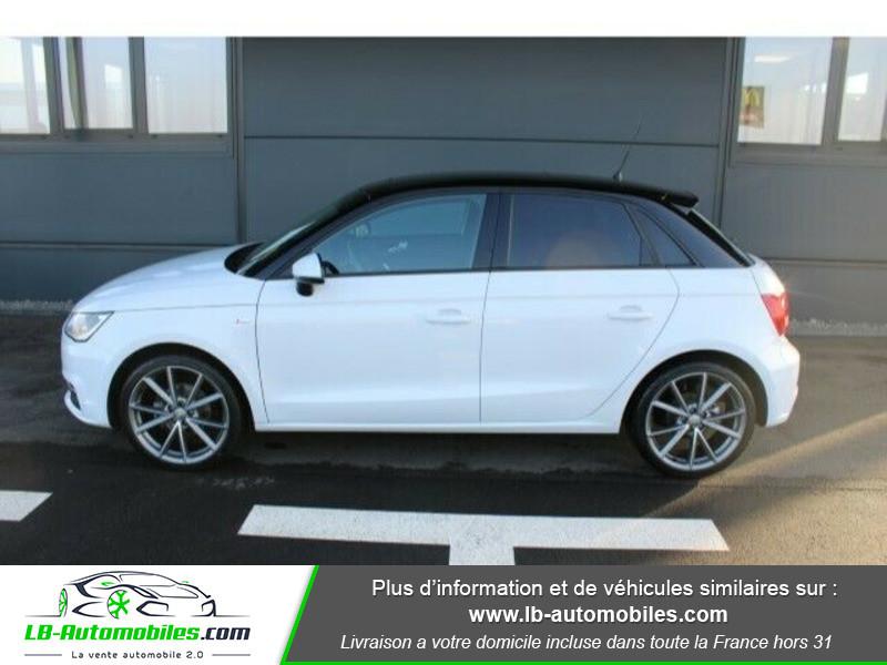 Audi A1 Sportback 1.4 TDI 90 S Tronic Blanc occasion à Beaupuy - photo n°4