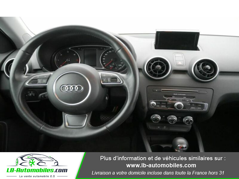 Audi A1 Sportback 1.4 TDI 90 Noir occasion à Beaupuy - photo n°7