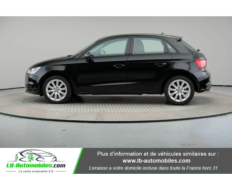 Audi A1 Sportback 1.4 TDI 90 Noir occasion à Beaupuy - photo n°5