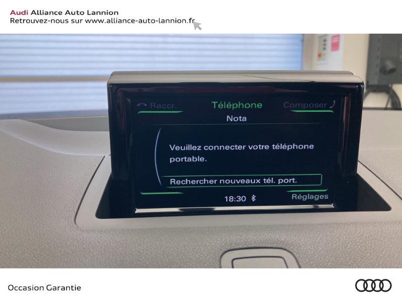 Audi A1 Sportback 1.4 TDI 90ch ultra Business line Noir occasion à Lannion - photo n°12
