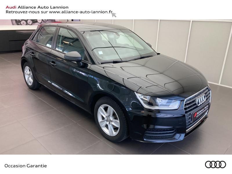 Audi A1 Sportback 1.4 TDI 90ch ultra Business line Noir occasion à Lannion - photo n°3