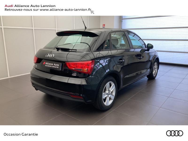 Audi A1 Sportback 1.4 TDI 90ch ultra Business line Noir occasion à Lannion - photo n°4