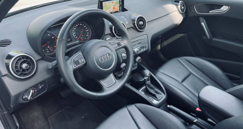 Audi A1 Sportback 1.4 TFSI 125 S tronic 7 Ambition Luxe Gris occasion à Saint-Ouen - photo n°5