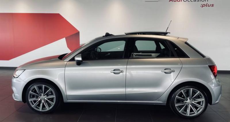 Audi A1 Sportback 1.4 TFSI 125 S tronic 7 Ambition Luxe Gris occasion à Saint-Ouen - photo n°4