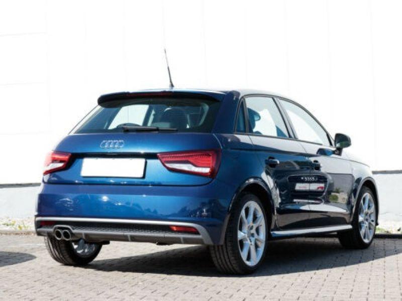 Audi A1 Sportback 1.4 TFSI 150 cv S Line Bleu occasion à Beaupuy - photo n°3