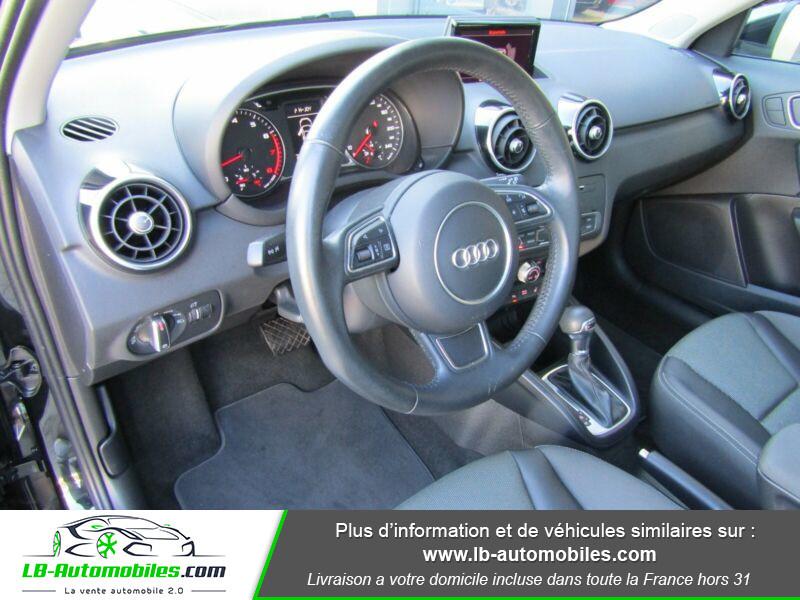 Audi A1 Sportback 1.4 TFSI 150 S Tronic Noir occasion à Beaupuy - photo n°8